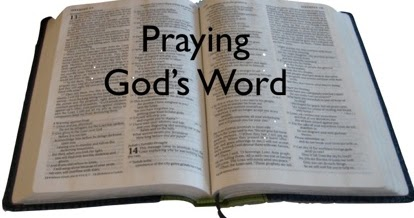 praying god's word bible btnc
